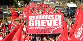 SERVIDORES EM GREVE